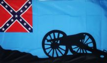 CONFEDERATE SOUTHERN THUNDER - 5 X 3 FLAG